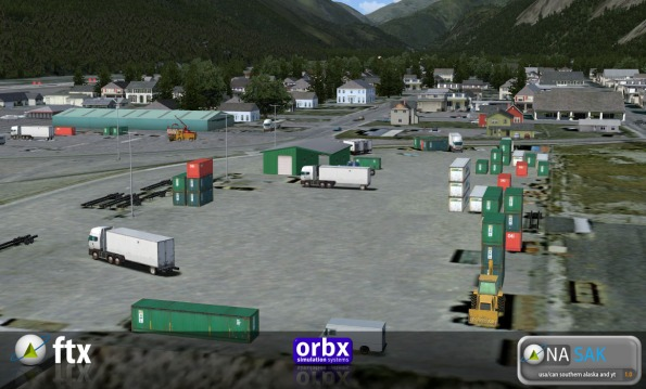 Skagway Container Yard