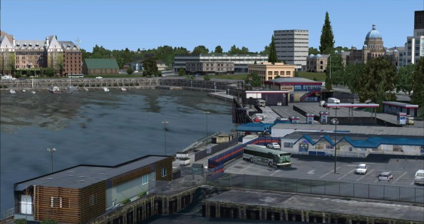 Belleville Ferry Terminal and Inner Harbour